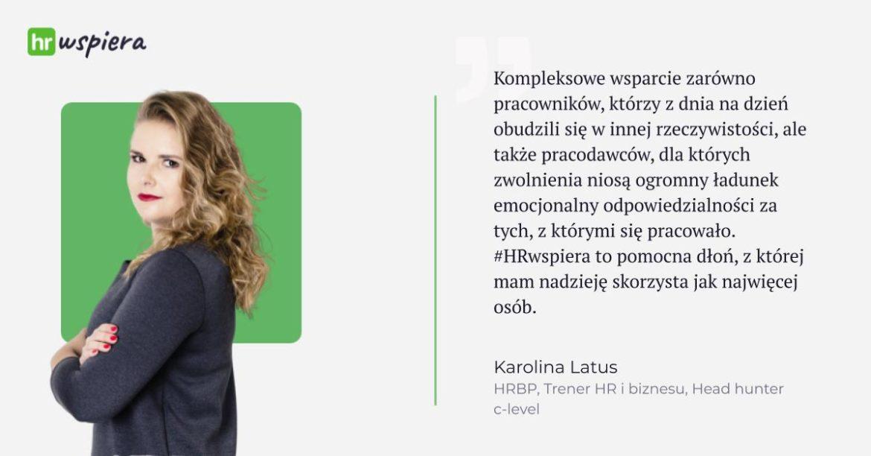 Karolina Latus HRwspiera Outplacement