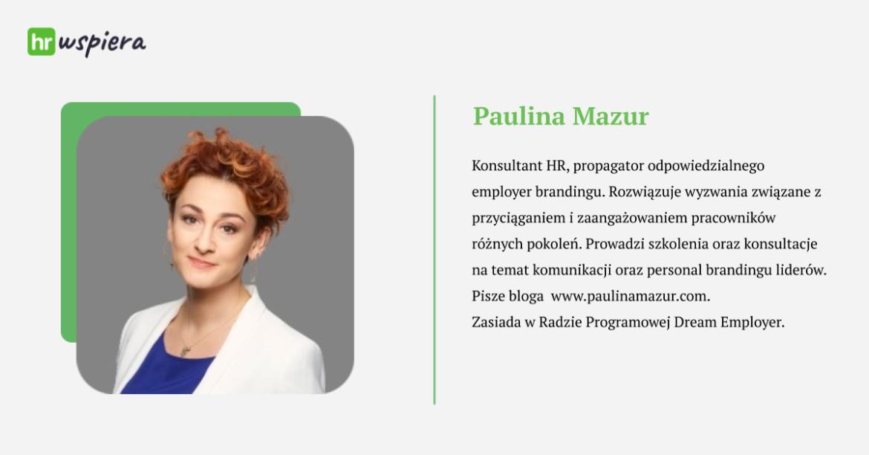 Webinar HRwspiera Paulina Mazur