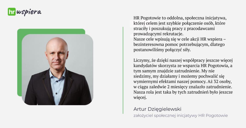 Artur Dzięgielewski HRpogotowie