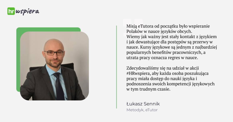Łukasz Sennik etutor